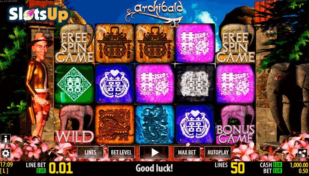 Archibald Orient HD Slot Machine Online ᐈ World Match™ Casino Slots