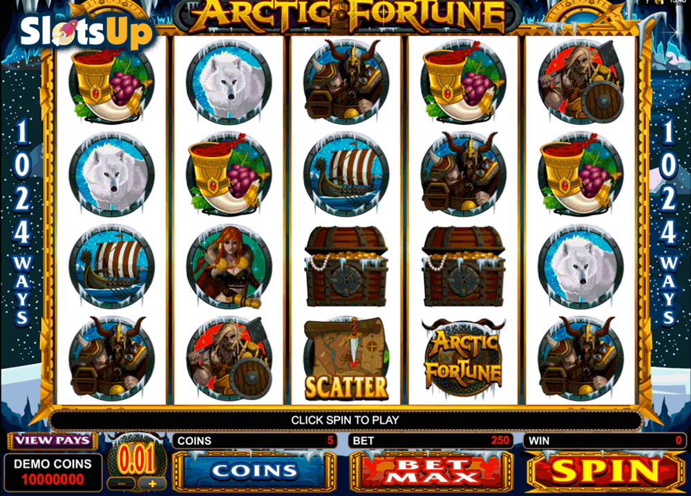 ARCTIC FORTUNE MICROGAMING CASINO SLOTS