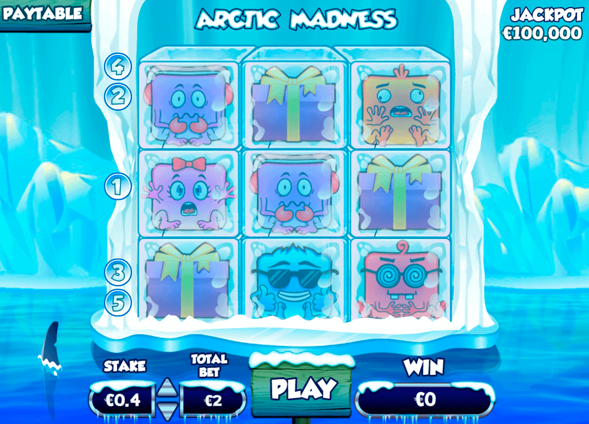 Arctic Madness Slot Machine - Review and Free Online Game