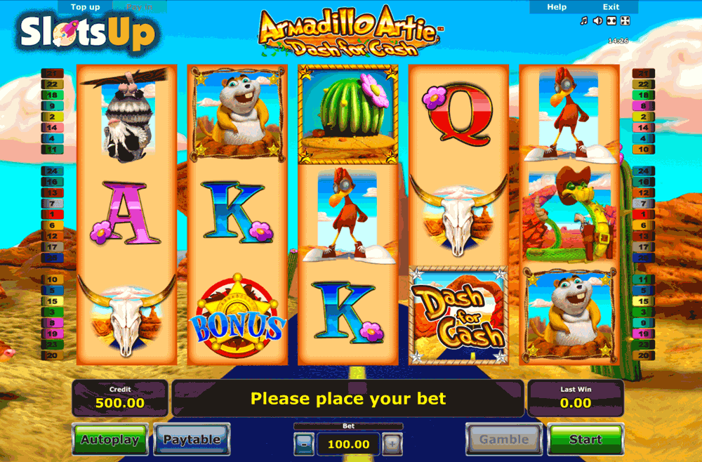 Armadillo Artie Slot Machine Online ᐈ Novomatic™ Casino Slots