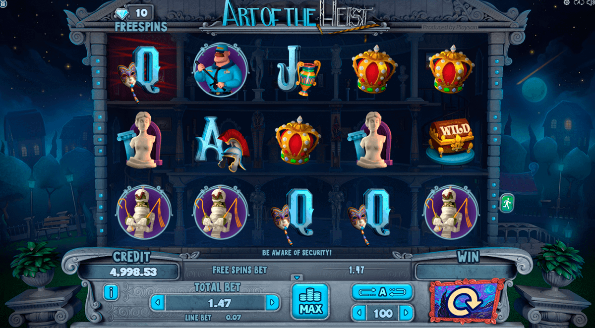 Heist Slot Machine Online ᐈ BetSoft™ Casino Slots