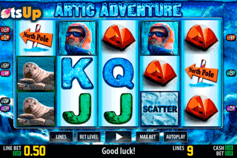 artic adventure hd world match casino slots