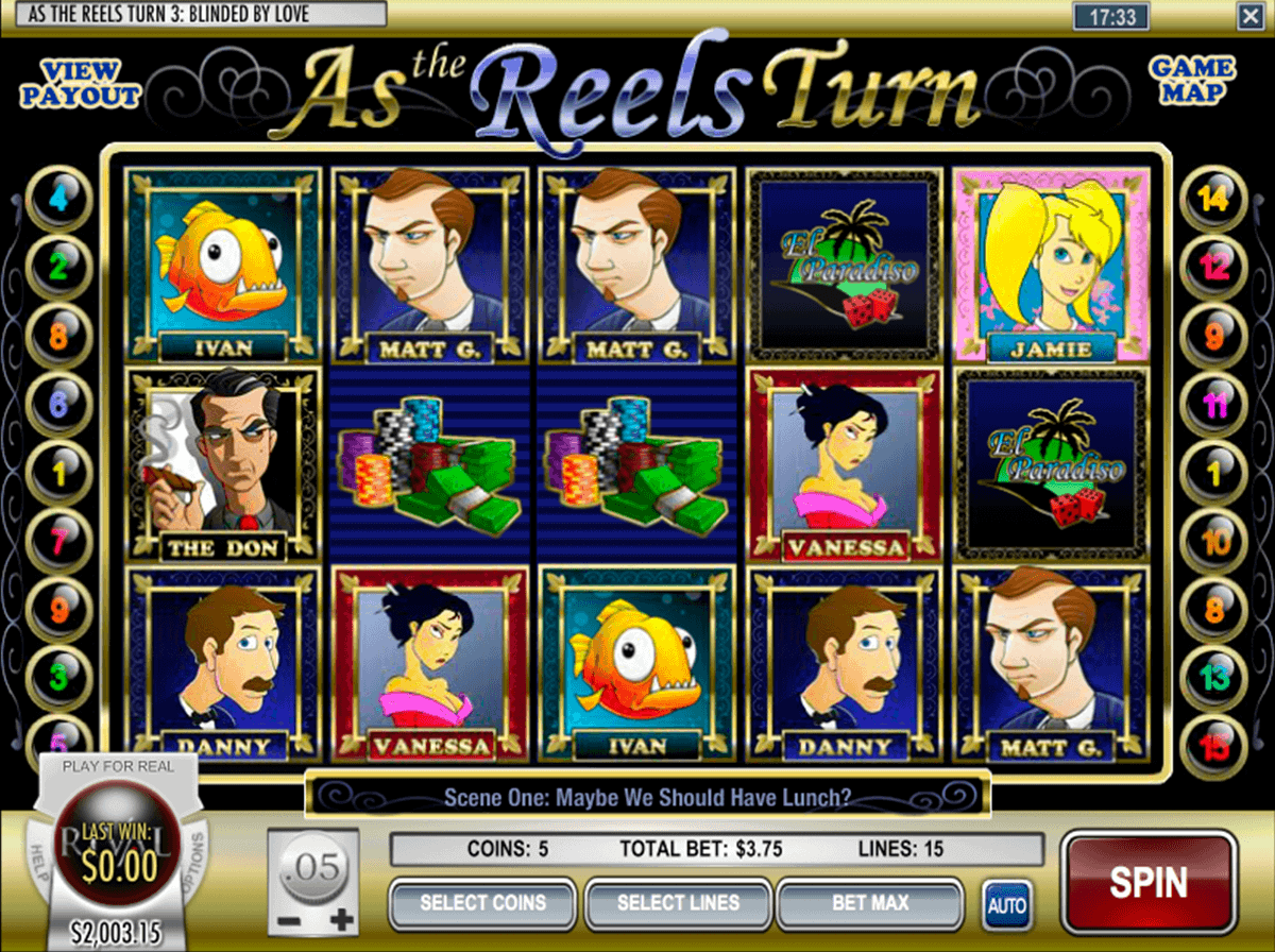 AS THE REELS TURN EP3 RIVAL CASINO SLOTS