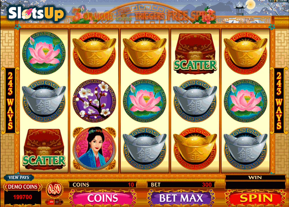 asian beauty microgaming casino slots