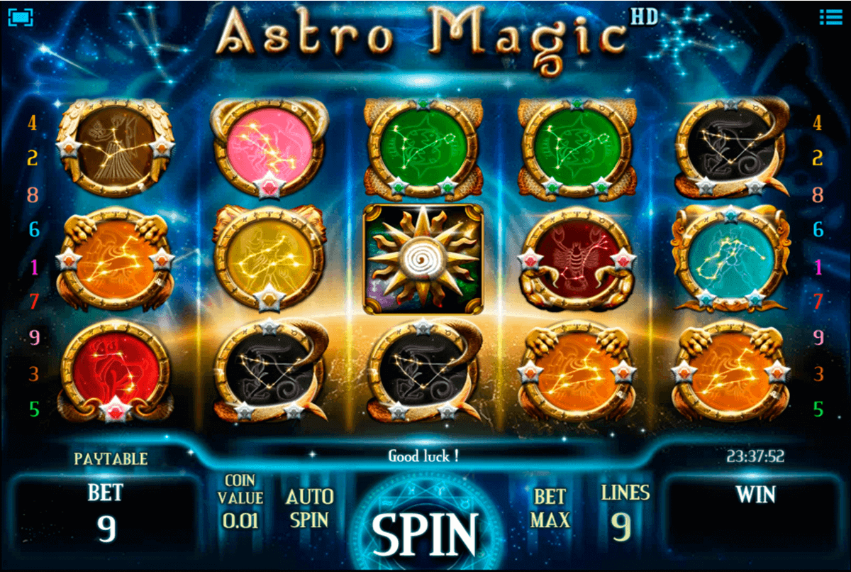 ASTRO MAGIC ISOFTBET