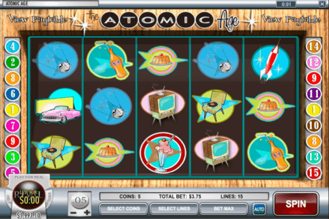 atomic age rival casino slots 480x320