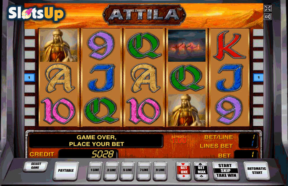 Attila Slot Machine Online ᐈ Novomatic™ Casino Slots