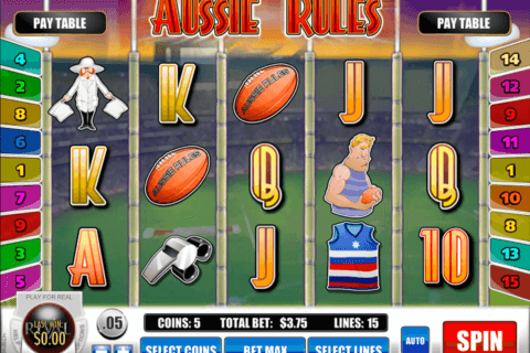 aussie rules rival casino slots