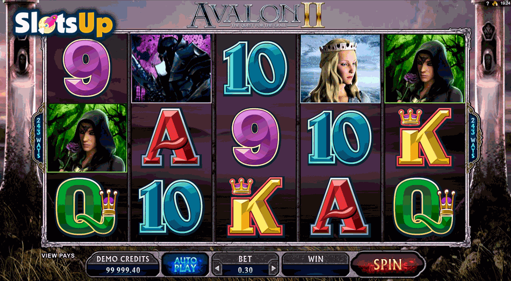 AVALON II MICROGAMING CASINO SLOTS