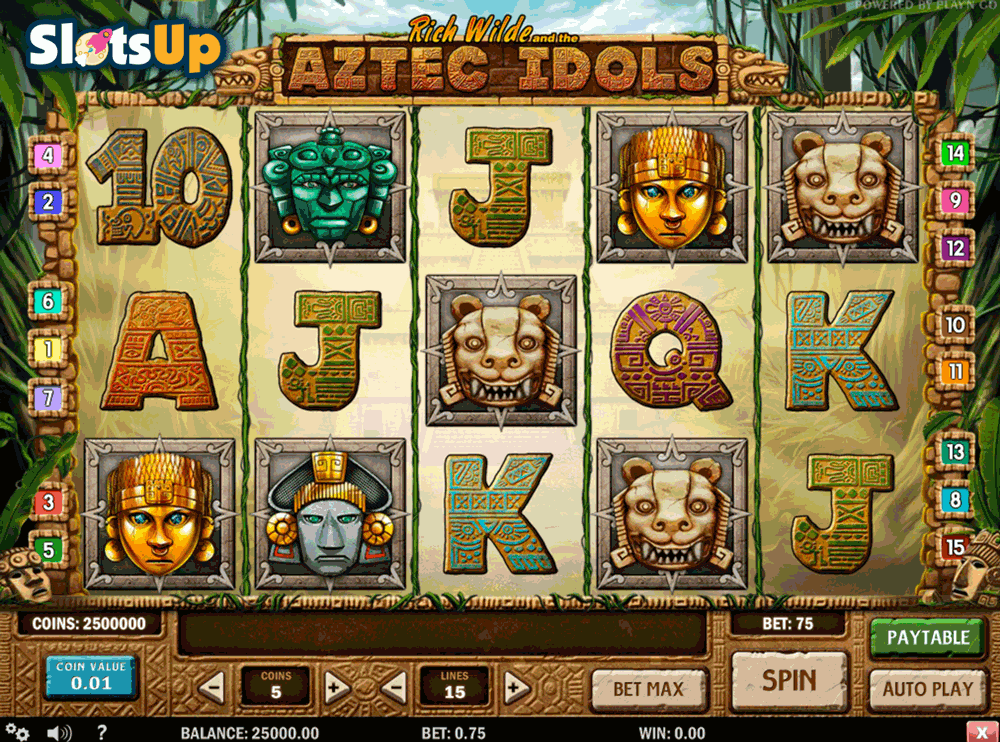 Aztec Idols Slot Machine Online ᐈ Playn Go™ Casino Slots