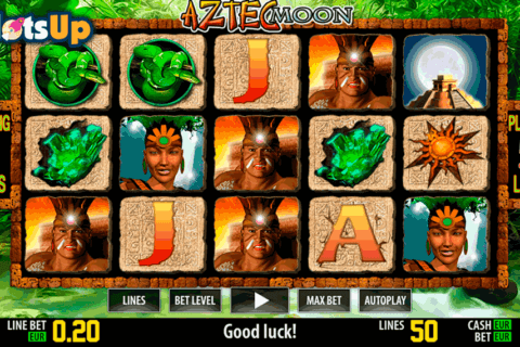 aztec moon hd world match casino slots