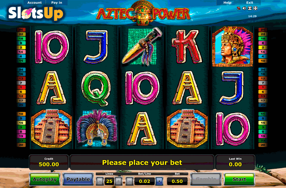 Aztec Treasure Slot Machine Online ᐈ Novomatic™ Casino Slots