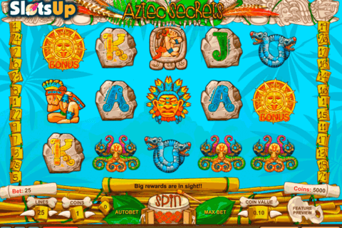 AZTEC SECRETS 1X2GAMING CASINO SLOTS