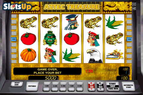 AZTEC TREASURE NOVOMATIC CASINO SLOTS