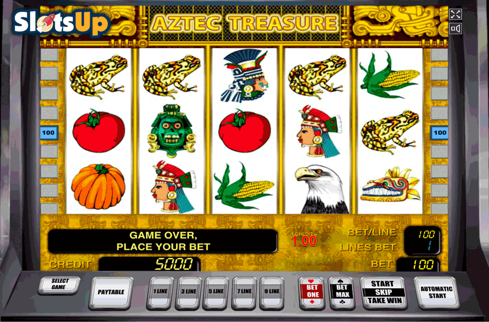 Aztec Treasure 3 Reel Slots Free Play & Real Money Casinos