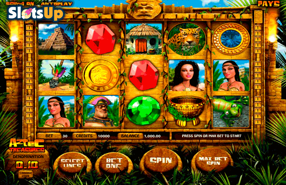 AZTEC TREASURES BETSOFT CASINO SLOTS