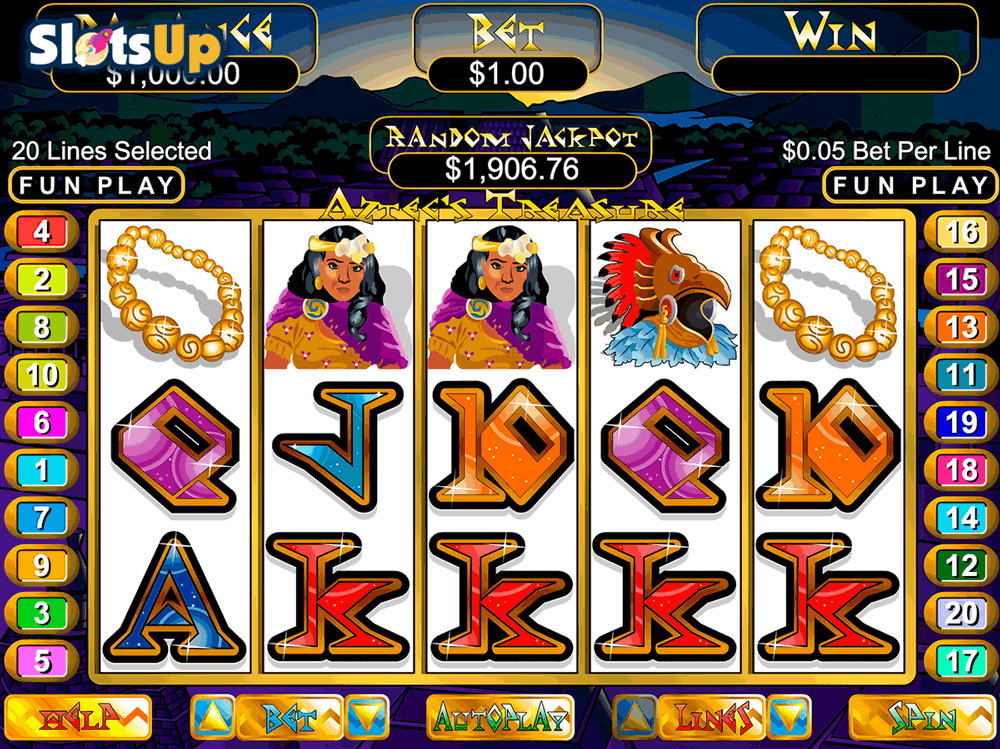 AZTECS TREASURE RTG CASINO SLOTS