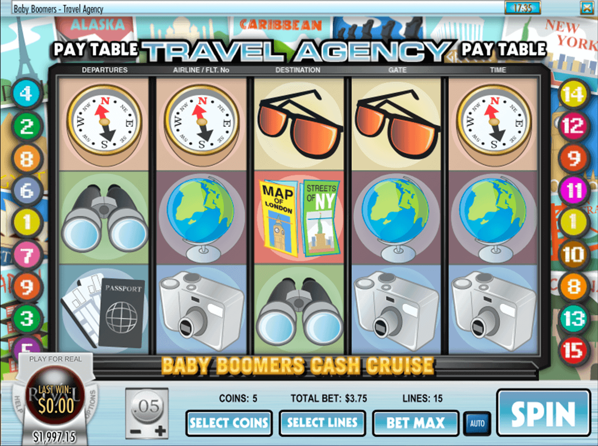 Baby Boomers Cash Cruise™ Slot Machine Game to Play Free in Rivals Online Casinos
