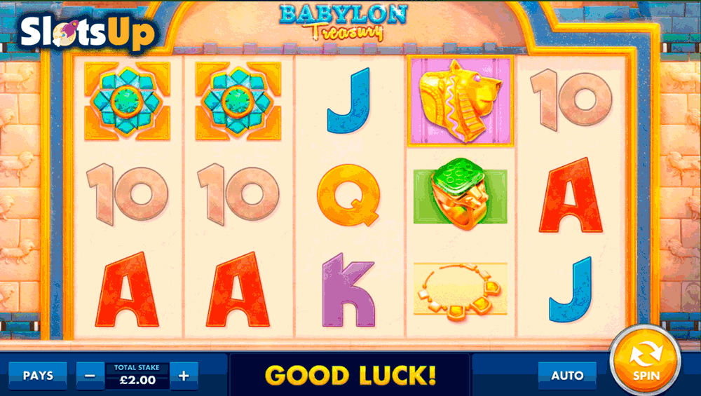 Babylon Treasury Slot Machine - Play for Free or Real Money