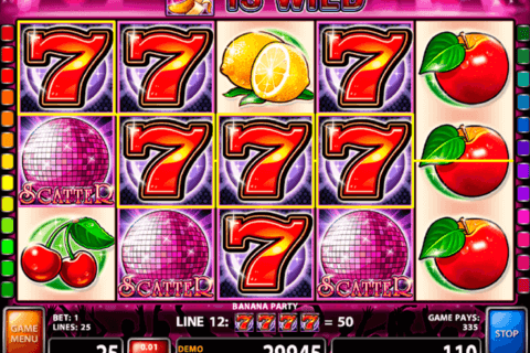 BANANA PARTY CASINO TECHNOLOGY SLOT MACHINE