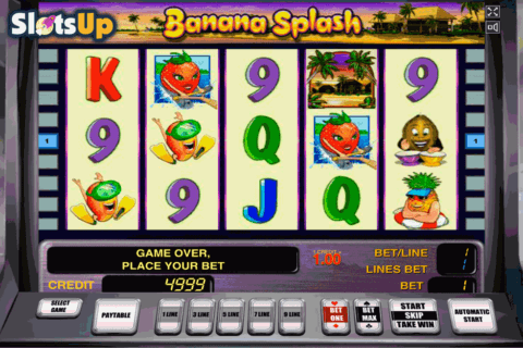 BANANA SPLASH NOVOMATIC CASINO SLOTS