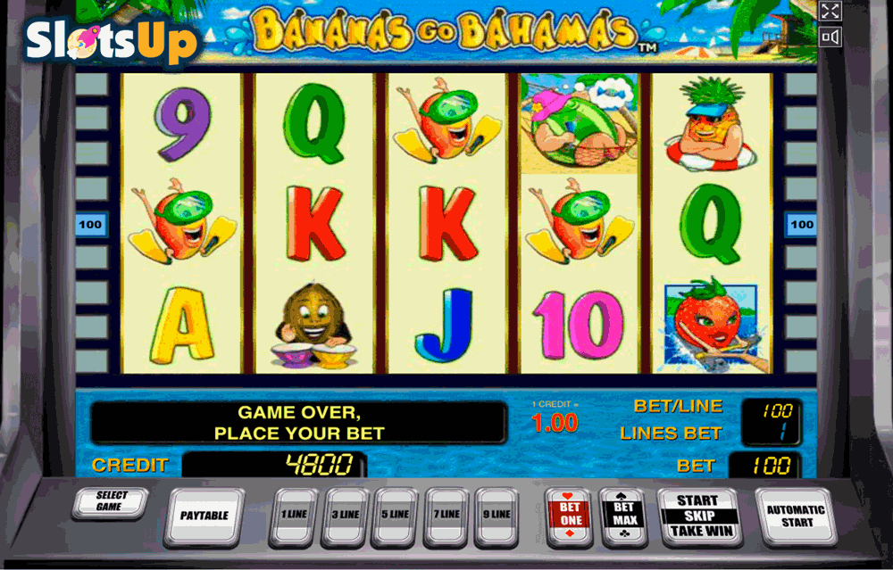 Bananas Go Bahamas Slot Machine - Play it Now for Free
