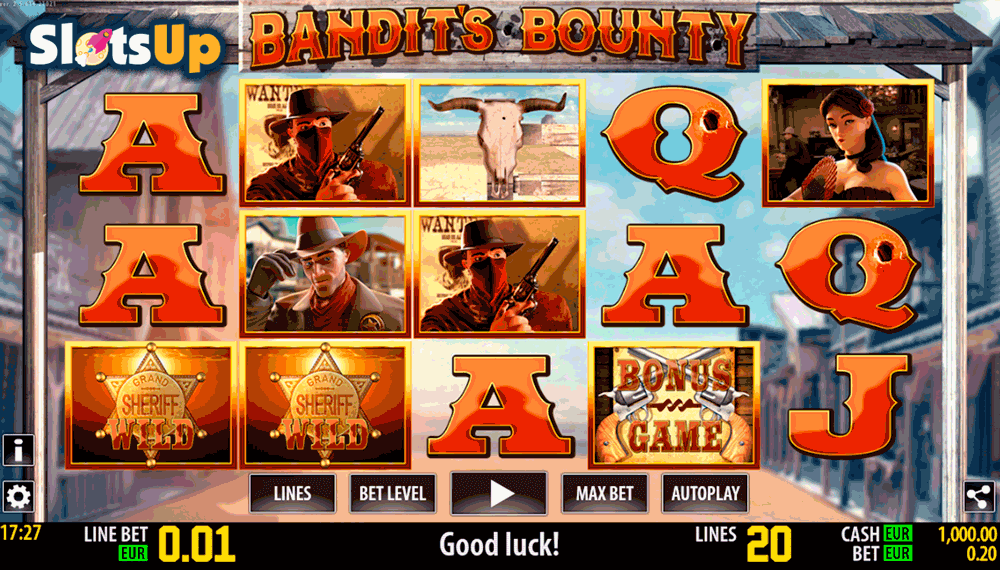 bandits bounty hd world match casino slots