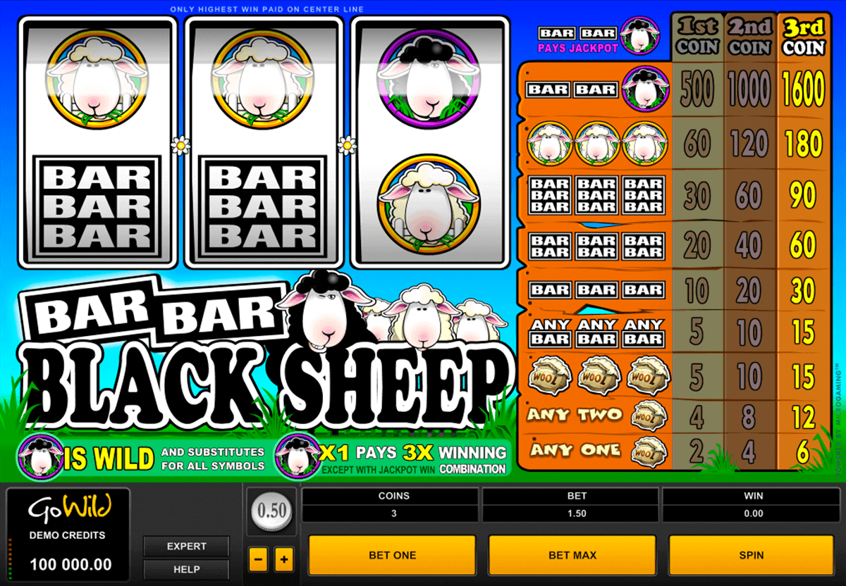 BARBARBLACK SHEEP MICROGAMING CASINO SLOTS
