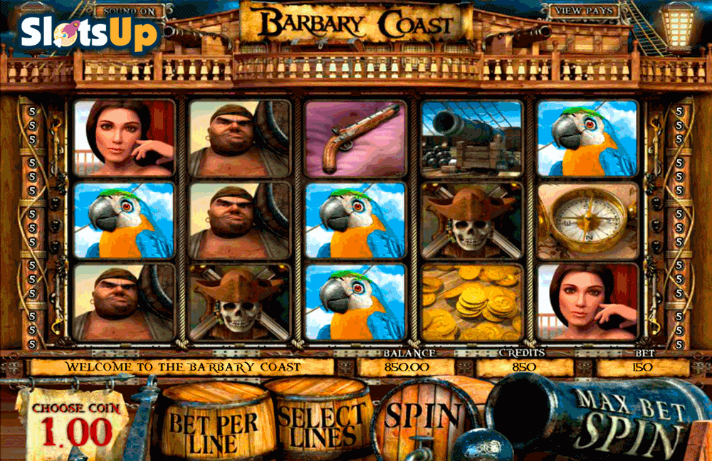 barbary coast betsoft casino slots
