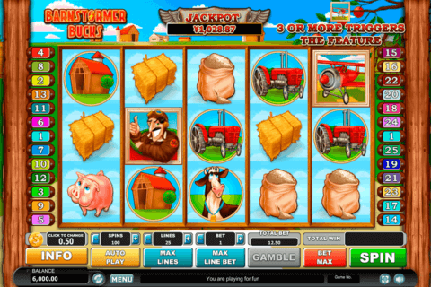 barnstormer bucks habanero slot machine