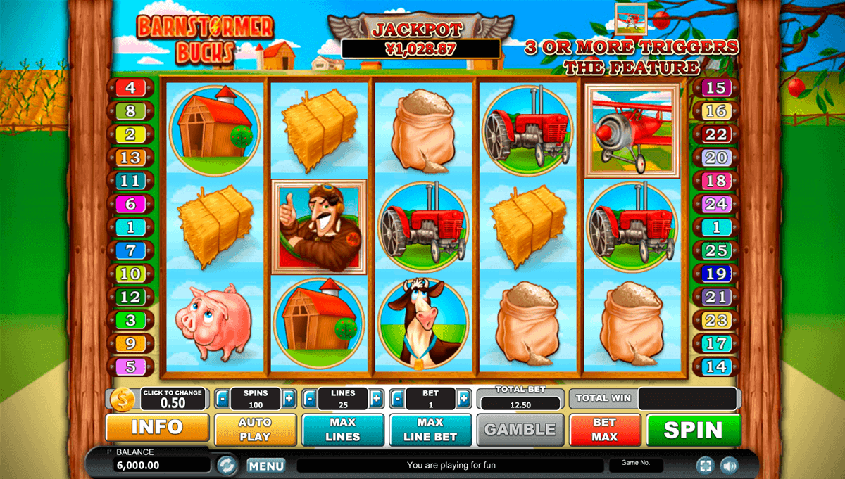 Barnstormer Bucks Slot Machine - Play Free Casino Slot Games