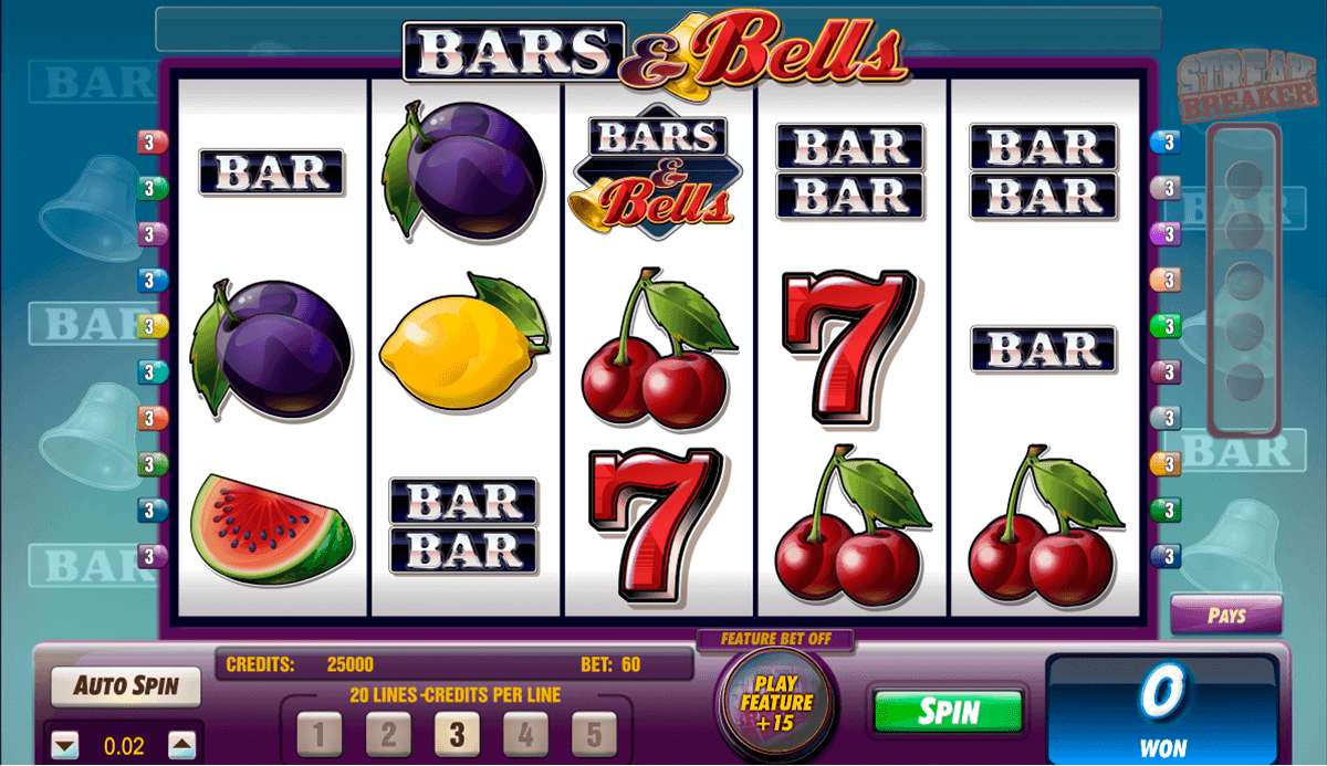 bars and bells amaya casino slots