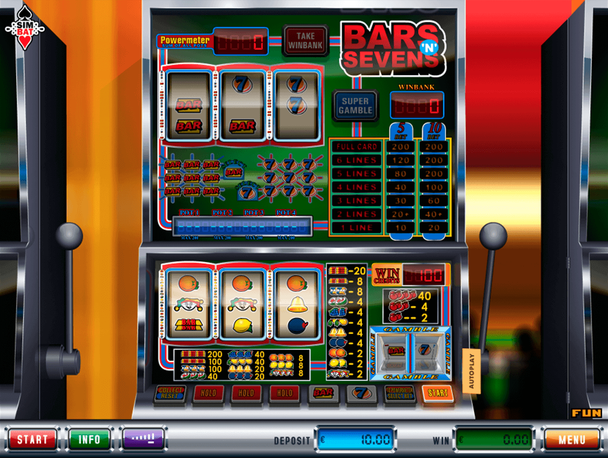 Sevens and Bars Slot Machine Online ᐈ Rival™ Casino Slots