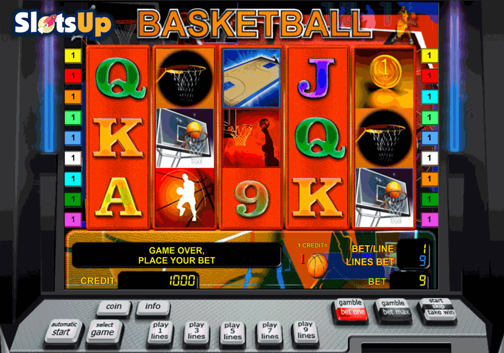 Basketball Slot Machine - Play this Free Novomatic Game Online