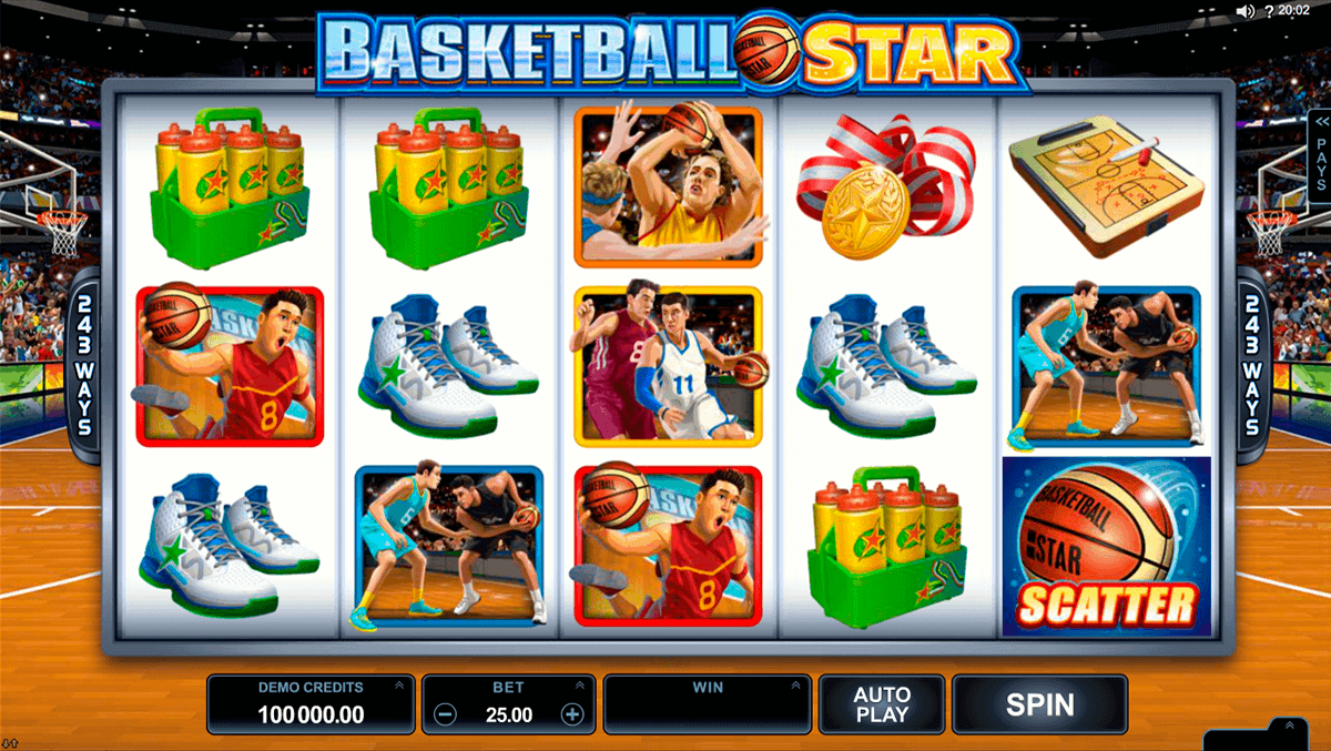 Basketball Star Slot Machine Online ᐈ Microgaming™ Casino Slots