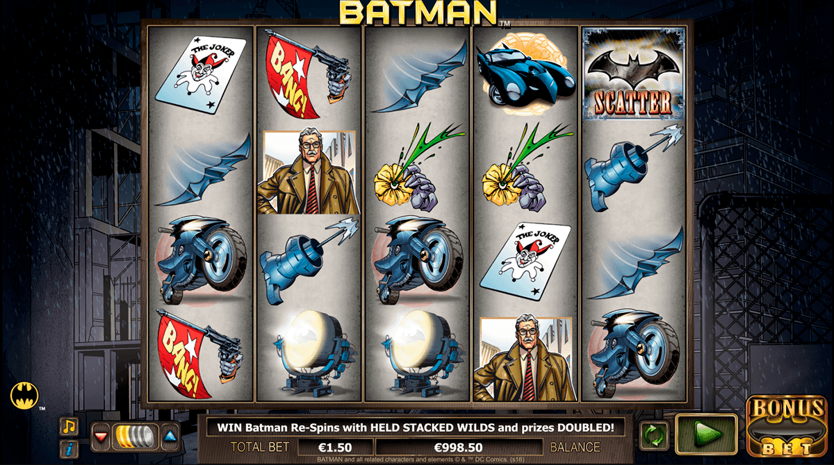 Batman Slot Machine by NextGen Gaming - Play it Online for Free