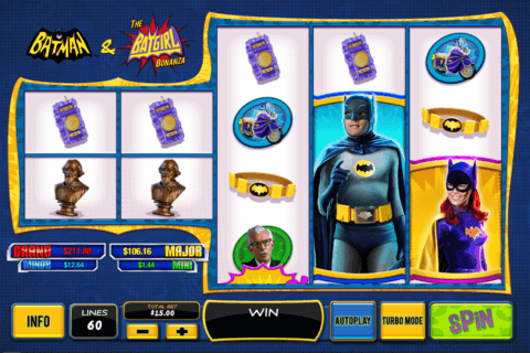 batman the batgirl bonanza playtech casino slots