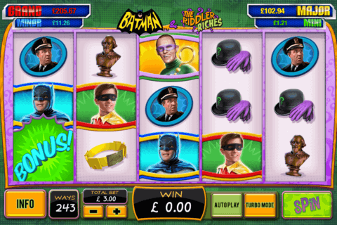 batman the riddler riches playtech casino slots