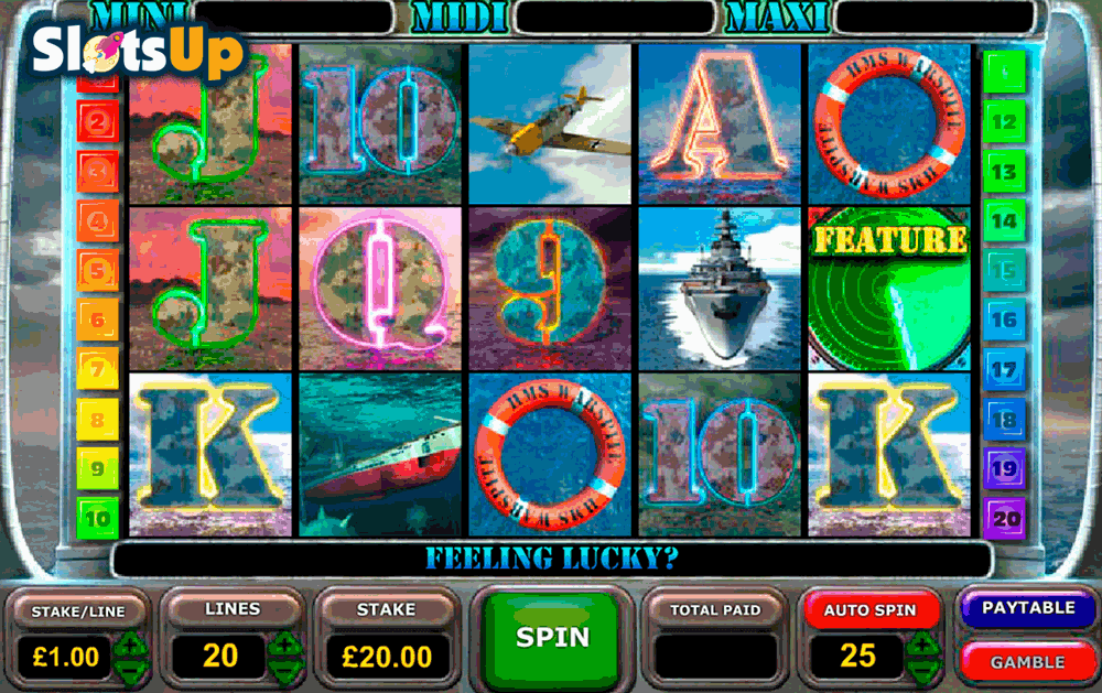 battle of the atlantic openbet casino slots