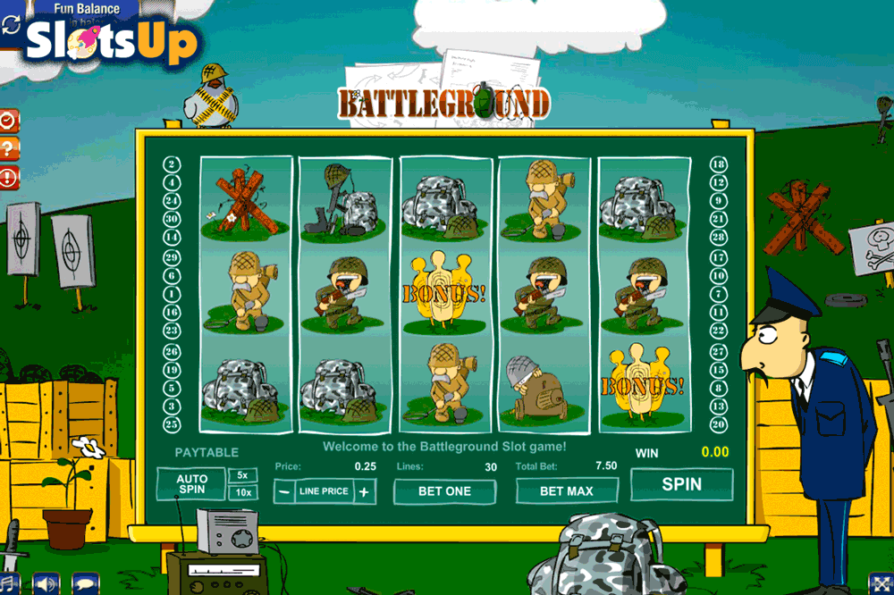 Battleground Spins Slot Machine Online ᐈ GamesOS Casino Slots