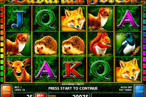 BAVARIAN FOREST CASINO TECHNOLOGY SLOT MACHINE