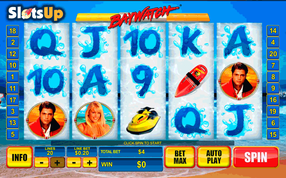Baywatch Rescue Slot Machine - Play Free Casino Slots Online