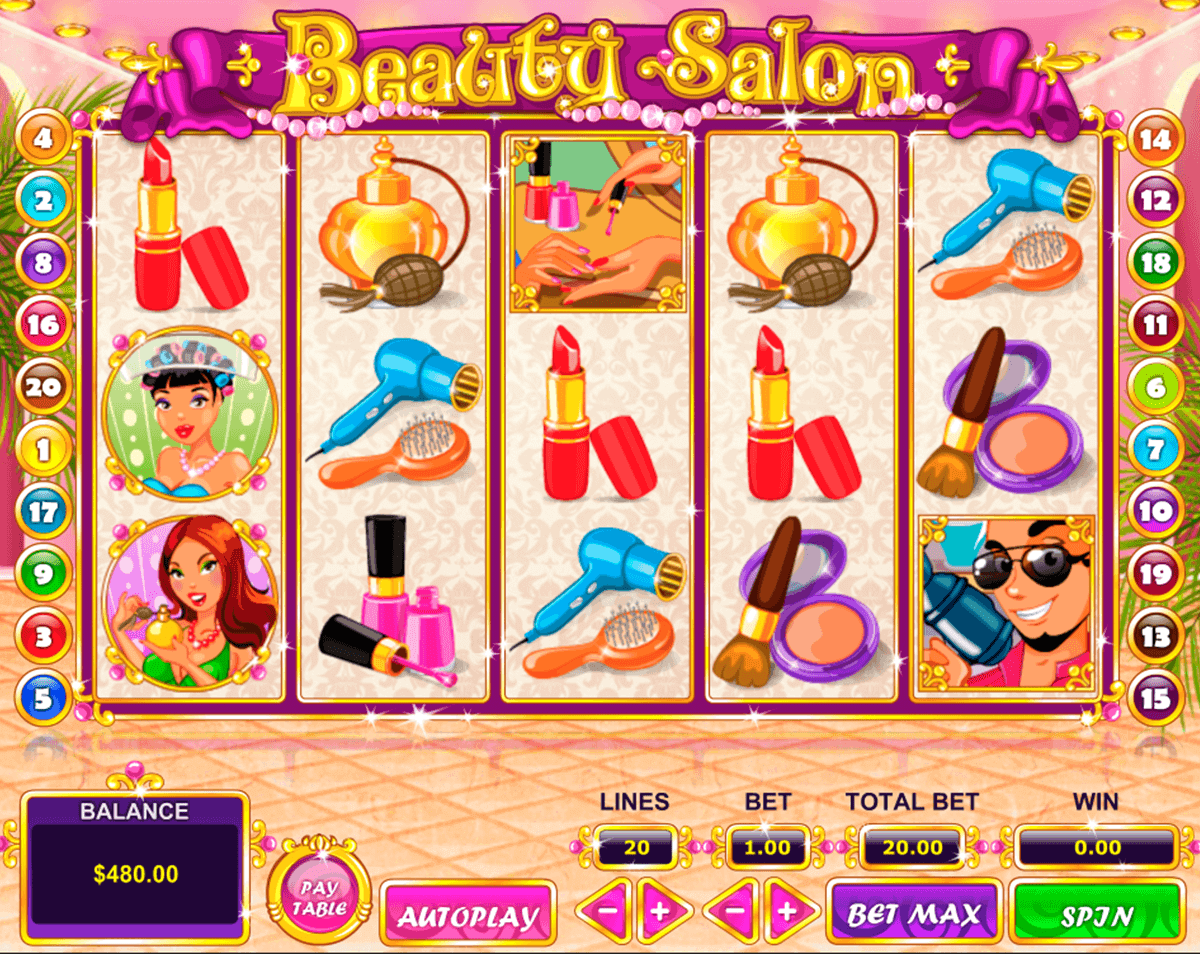 Beauty Salon Slot Machine Review & Free Instant Play Casino Game