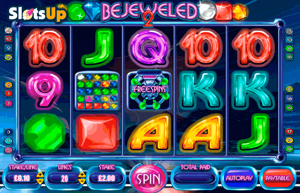 Bejeweled™ Slot Machine Game to Play Free in Cryptologics Online Casinos