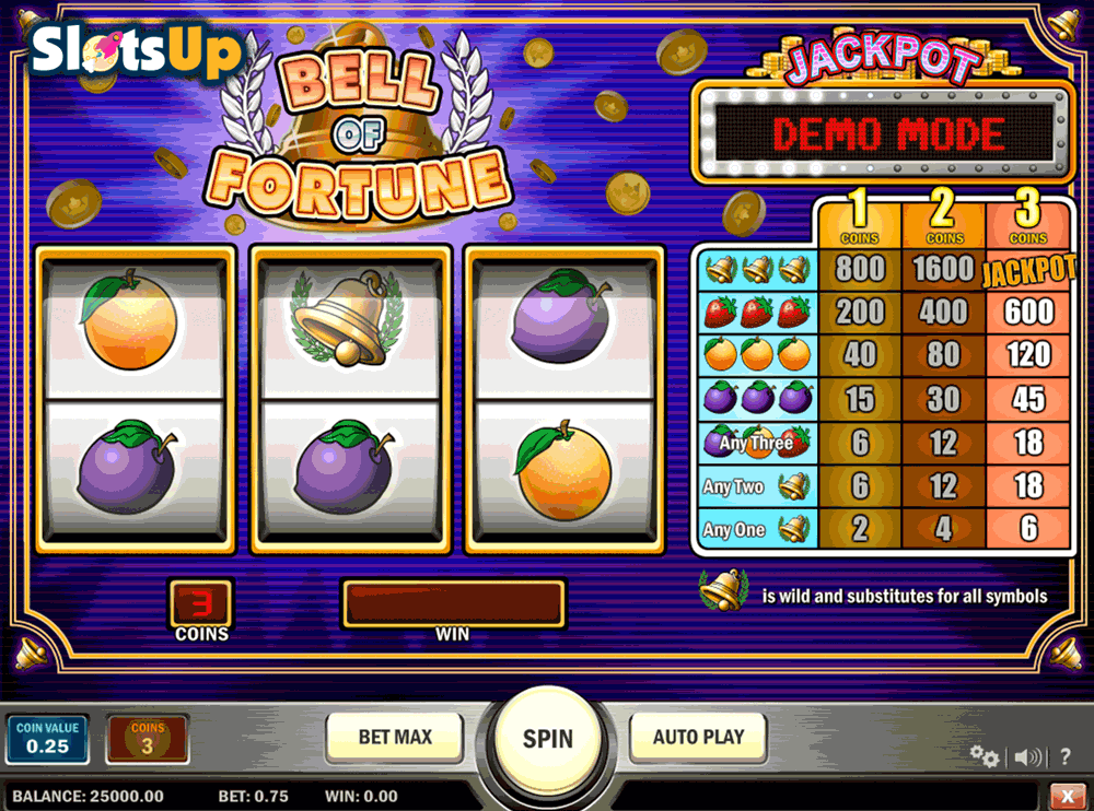 bell of fortune playn go casino slots