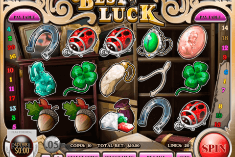 BEST OF LUCK RIVAL CASINO SLOTS