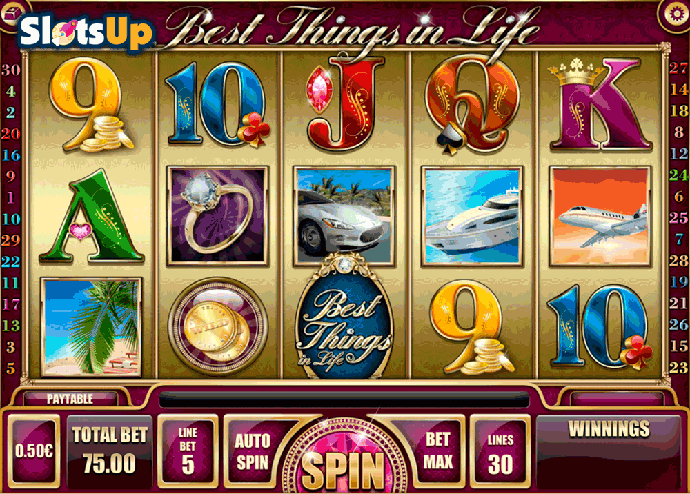 Best Things in Life Slot Machine - Play for Free Online