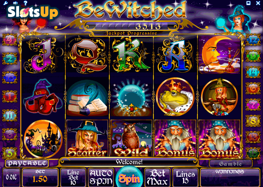 Bewitched™ Slot Machine Game to Play Free in iSoftBets Online Casinos
