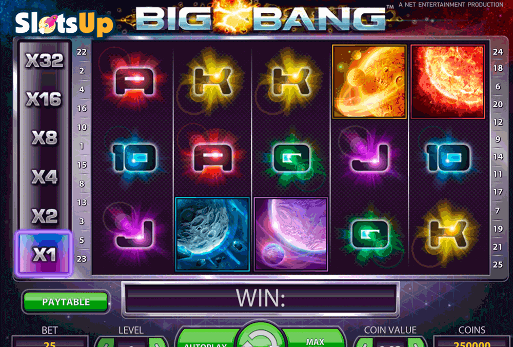 Spiele Big Bang - Video Slots Online