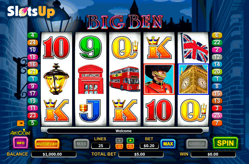 BIG BEN ARISTOCRAT CASINO SLOTS
